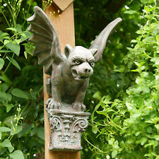 Gargoyle Mythical  Wall Plaque Antique Finish