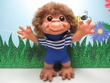 """Rare 1966 Vintage 7"""" DAM THINGS HARD RUBBER MONKEY BOY TROLL DOLL - EXCELLENT"""