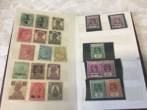 COLLECTION OF STAMPS SOME RARE VINTAGE
