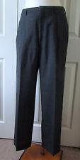"Hart Schaffner & Marx Men's Wool Lined Pants, Charcoal Gray, Size 32""x29"", EUC"
