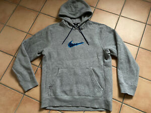 NIKE SB Hoodie Gr. M Grau Kapuzen-Pullover Sweatshirt