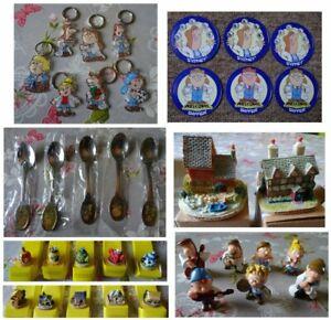 Selection of Tetley Tea Folk Collectables