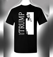 Trump 2020 T-Shirt Scarface Crossover President Donald Keep America Great MAGA
