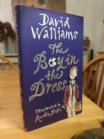David Walliams First Edition First Printing The Boy In The Dress 2008