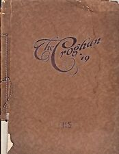 "Rare 1919 ""The Croghan"" - Fremont High School Yearbook - Fremont, OH Volume 1 !"