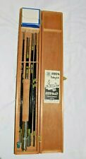 Vintage Japanese Fishing Rod Reel Kit Eagle Kyoto-Ya & Co. Tokyo Japan 2 tips