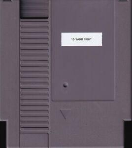 10-YARD FIGHT (1985) nes nintendo no label black label classic NTSC USA IMPORT