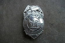 vintage obsolete NEW JERSEY NJ PRIVATE WATCHMAN police badge 1930