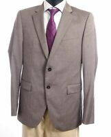 JOOP! Sakko Jacket Finch-Brad Gr.50 braun Nadelstreifen Einreiher 2-Knopf -S556