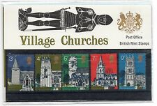 GB 1972 Village Churches Presentation Pack VGC. Stamps. Free postage!!