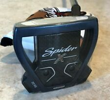 """TaylorMade Spider X Navy 34"""" Putter - KBS Black Stepless Stability Shaft"""