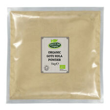 Organic Gotu Kola Powder 1kg Certified Organic