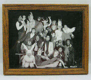 School Theater Group Students in Costume Framed Photo Contemporary SF Bay Area 3