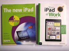 YOUR IPAD AT WORK 4TH EDITION Jason R. Rich & THE NEW IPAD IN EASY STEPS Books