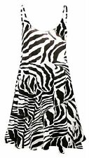 Unbranded Animal Print Scoop Neck Dresses for Women