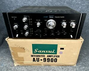 Vintage Sansui AU-9900 Integrated Amplifier Near Mint Works Great!