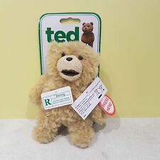 TED FILM Talking Ted Bear Soft Toy Plush With Sounds X Rated Bag Clip mm