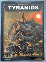 Warhammer 40k Codex Tyranids Army book 3rd ed OOP PB Games Workshop WH40K Nids