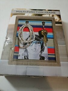 Multi-Function Picture Frame with Two Hooks NEW IN BOX
