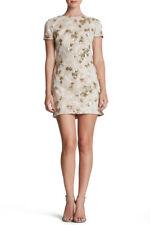 DRESS THE POPULATION 'ELLEN ' SEQUIN EMBROIDERED WOVEN SHIFT DRESS sz S