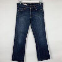 Red Engine Jeans Women's Size 27 Straight Leg Mid Rise Medium Wash