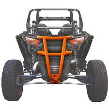 Rear Lightweight Steel Bumper Orange Powdercoated fits All RZR XP 1000