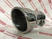 *NEW LEXUS LX470 CHROME EXHAUST TIP OEM MUFFLER PIPE STAINLESS STEEL LANDCRUISER
