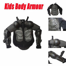 Motocross BMX Kid Youth Body Armour Dirt Bike Quad Protector Chest Small Size