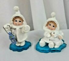 "Dreamsicles Northern Lights ""Guiding Light"" & ""Love Some Bunny"" retired figurine"