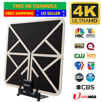 3600 Miles TV Antenna With Stand Indoor HDTV Amplified Digital TV Antenna 1080P