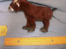 Vintage 1950's Donkey Mechanical Wind Up Walking Toy Made in Japan Kitsch  12.