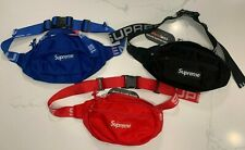 NEW Supreme Waist Bags / Fanny Packs SS18 - Unisex - Hypebeast - Multiple Colors