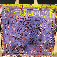 "Scaredycat. Many Coloured Silks 7"" single W/Lbl HANDMADE SLEEVE EX+/EX plank 27"