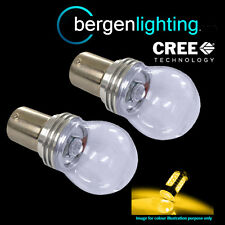 382 1156 Ba15s 245 P21W ámbar 3 Led Cree Frontal indicador bombillas fi203302