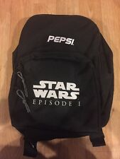 Star Wars Episode 1 2 In One backpack/duffle Bag Pepsi promo