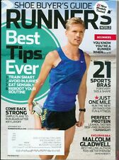 2013 Runner's World Magazine: Malcolm Gladwell/Sports Bras/Protein/Best Tips