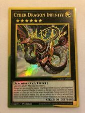 Yugioh Cyber Dragon Infinity (Alternate Art) Mago-En033 1st Edition Maximum