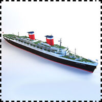 1:400 Scale SS United States Luxury Passenger Liner Handcraft Paper Model Kit