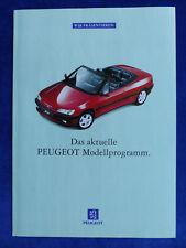 Peugeot Programm 1995 - 106 205 306 405 605 806 - Prospekt Brochure 08.1994