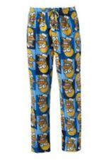 "The Simpson's HOMER Fleece Pajamas Lounge Pants Men's Medium M NeW 32""-34"" Pjs"