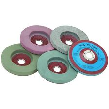 5 pc 4 INCH POLISHING WHEEL DISC BUFFING FOR ELECTRIC GRINDER,MARBLE,STONE