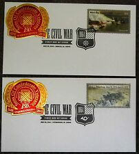 1864-2014 First Day Covers Mobile Bay & Petersburg Sons of Confederate Veterans