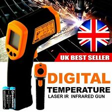 Non contact Digital Infrared Thermometer Laser IR Temperature Gun UK SELLER