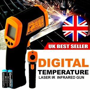 Non contact Digital Infrared Thermometer Laser IR Temperature Gun UK SELLER
