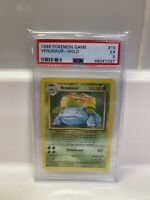 1999 Pokemon Base Set Venusaur 15/102 PSA 5 EX wotc Holo Non Shadowless card