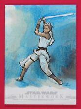 2019 Star Wars Masterwork Mike Jones Artist Autographed Sketch Card 1/1