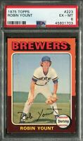1975 Topps #223 Robin Yount Rookie! PSA 6 EX-MT, Well Centered!