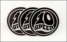 10 Ten Speed Record Company Promo Stickers Lot Of 3