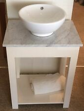 Countertop Painted Washstand