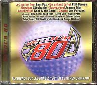 RETOUR 80 - FLASHBACK SUR LES ANNEES 80 - CD COMPILATION NEUF SOUS CELLO